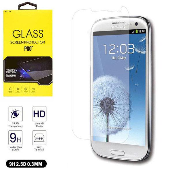 خرید محافظ صفحه نمایش گلس سامسونگ Glass S3