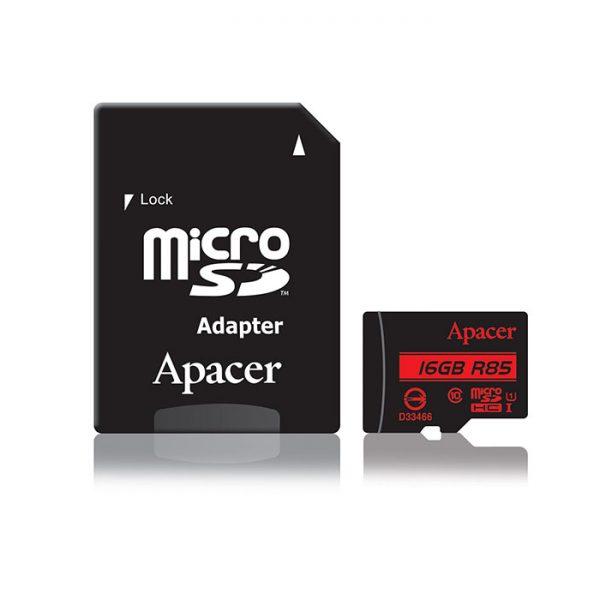 کارت حافظه (رم) Apacer 16GB Class 10 U1 85MBps