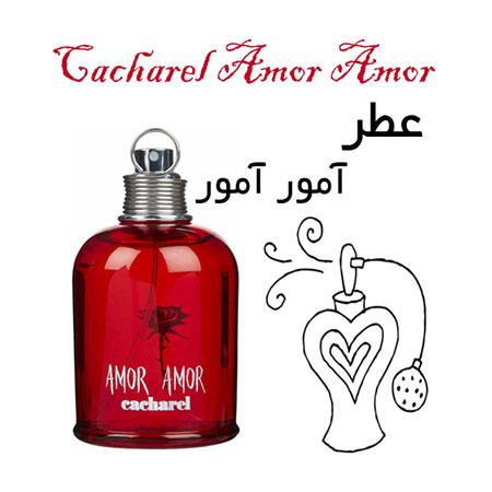 عطر گرمی کاشارل آمور آمور Cacharel Amor Amor