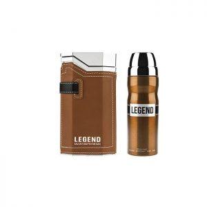 عطر ادکلن لجند LEGEND قهوه ای امپر