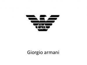 برند جورجيو آرمانى Giorgio Armani