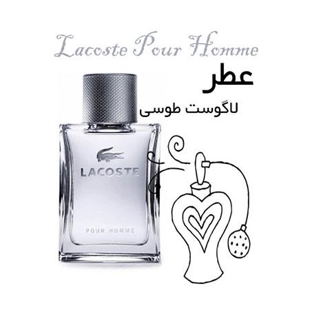 عطر گرمی لاگوست طوسی - پورهوم Lacoste Pour Homme